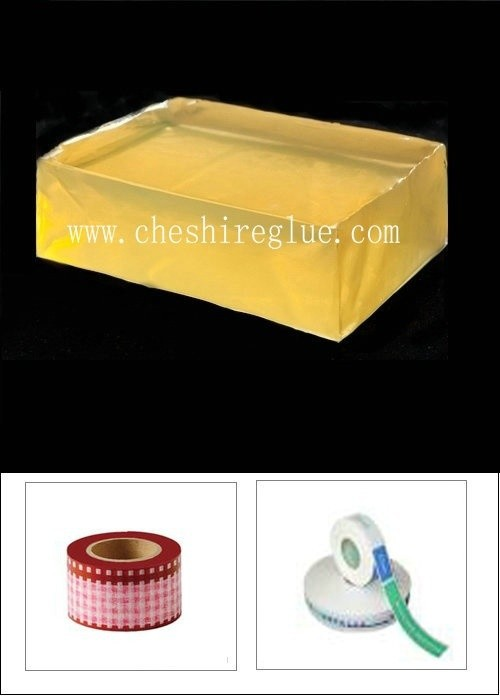 Strong sticky hot melt adhesive glue for paper label