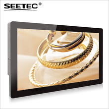 22 Inch Wall-mounting Digital video LCD Player full HD capacitive touch outdoor advertising stands