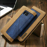 New Stylish Wholesale Products Large Volume Men Leather Mobile Phone Case Wallet