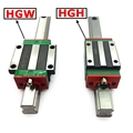 HGR35 linear guide rail and block bearings HGW HGH 35 CA