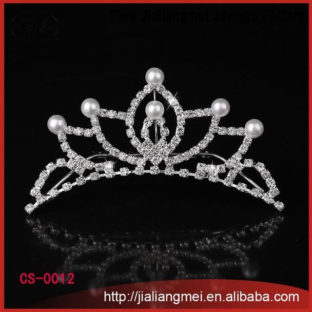 2015 Manufacturer wholesale jewelry rhinestone pearl metal hair comb bridal hair accessories