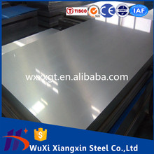 China Supplier 2B surface dimpled stainless steel sheet price 301