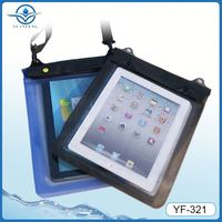 Ipx8 degree waterproof mobile phone case for ipad