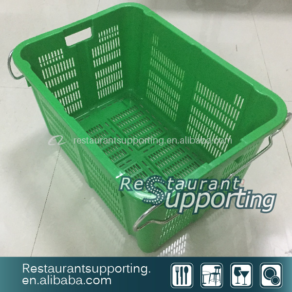Various Sizes Of Plastic Basket /Crate Using For Fruit And Vegetable