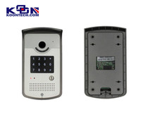 Luxury Video door phone intercom systems wireless door phone unit waterproof IP65 video door phone can put in the rain directly