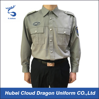 511 tactical shirts china supplier poly cotton security shirts