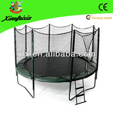 outdoor exercise trampoline for backyard