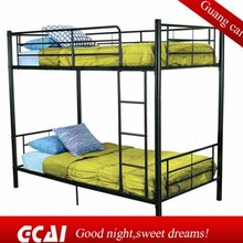 Low cost selling metal dormitory bed good design bunk beds with mattresses