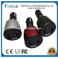 5A Portable Mobile Phone Dual USB Car Charger for iPhone ipod Samsung Galaxy S3 S4