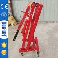 Small 2t Foldable Hydraulic Shop Crane Manufacturer