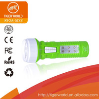 ABS plastic led hand torch light