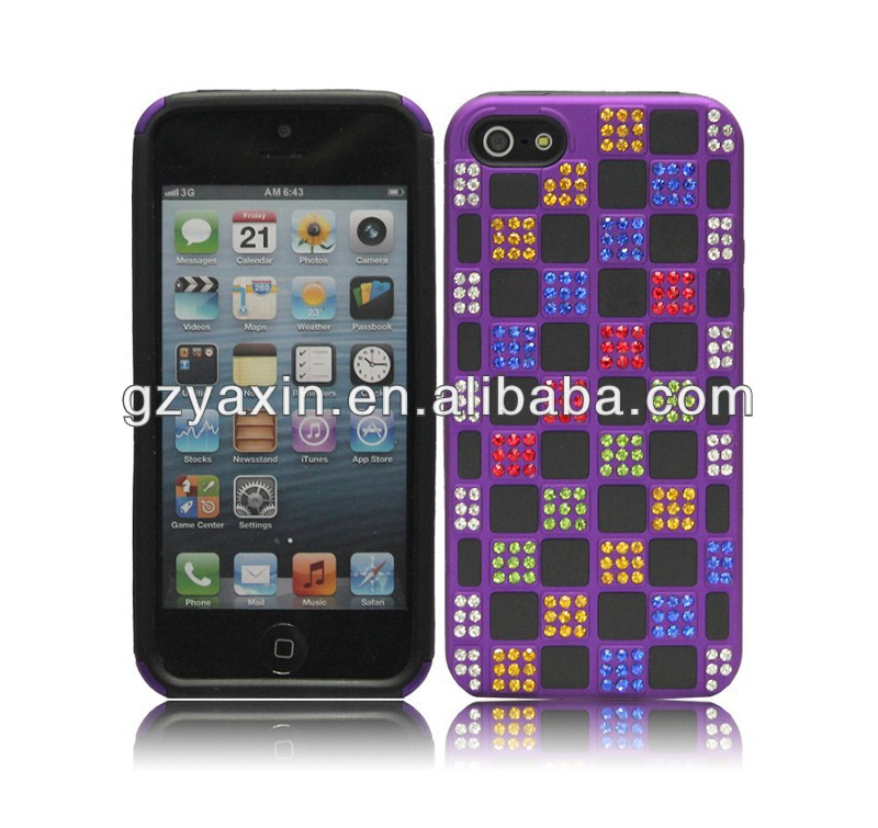 for iphone 5 bling bling diamond case,bling jeweled case for Iphone 5