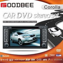 2 Din universal car DVD player install in 2004 Toyota Corolla Cars