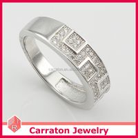 Highly Quality Silver Ring for Arabic Barons with CZ AAA Diamonds Jewelry Silver 925 Men's Ring