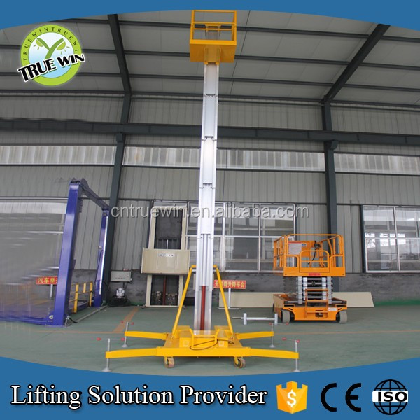 China high strength aluminum alloy materials Elevated Work Platform