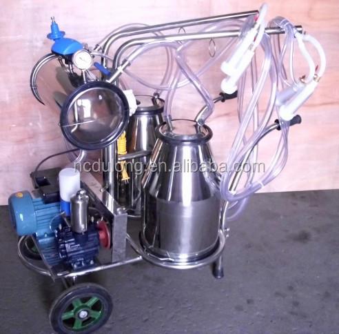 Hot sale automatic goat use bucket milker