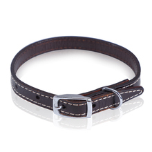 Luxury Leather Pet Collars for Dogs and Cats