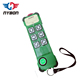 K series 6 or 8 buttons single speed wireless remote controller for crane