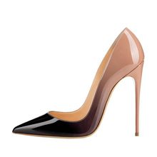 Women Shoes for 2018 New Design Stiletto Pointed Toe Fancy 12cm High Heels