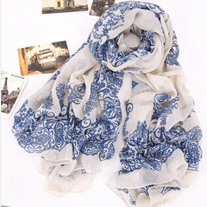 2017 Hot Sale Ladies Elegant Custom Stoles shawls Beach Fashionable Women Spring Autumn Printed Chiffon <strong>Scarf</strong>