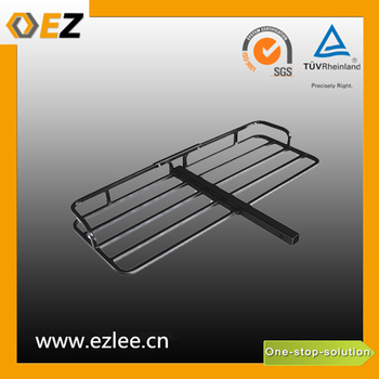 car bicycle aluminium hitch mount cargo carrier