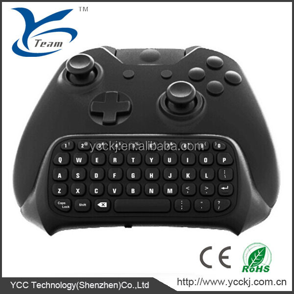 High quality 2.4G For XBOX ONE Wireless Controller Chatpad Keyboard Online Gaming Keyboard for XBOX ONE Wireless controller