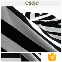 Great clothing material striped cheap plain fabric cotton price