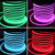 high quality Color changing PVC building decoration RGB led neon flex light