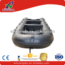 Strong fast patrol inflatable rubber boat for sale