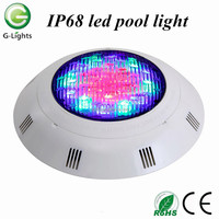 Energy saving 24V 24W fixture underwater RGB IP68 led pool light