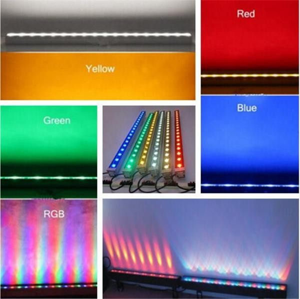 Professional lighting 36W IP65 RGBW Led Wall Washer Light