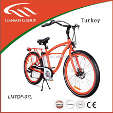 electric cheap cruiser beach cruiser bicycle for sales
