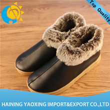 Hot sale men indoor shoe for winter no minimum manufacturer