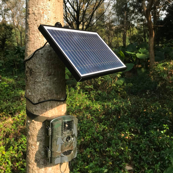 2018 Newest High Quality Solar Panel Waterproof IP54 Solar Panel Charger for Hunting Trail Camera