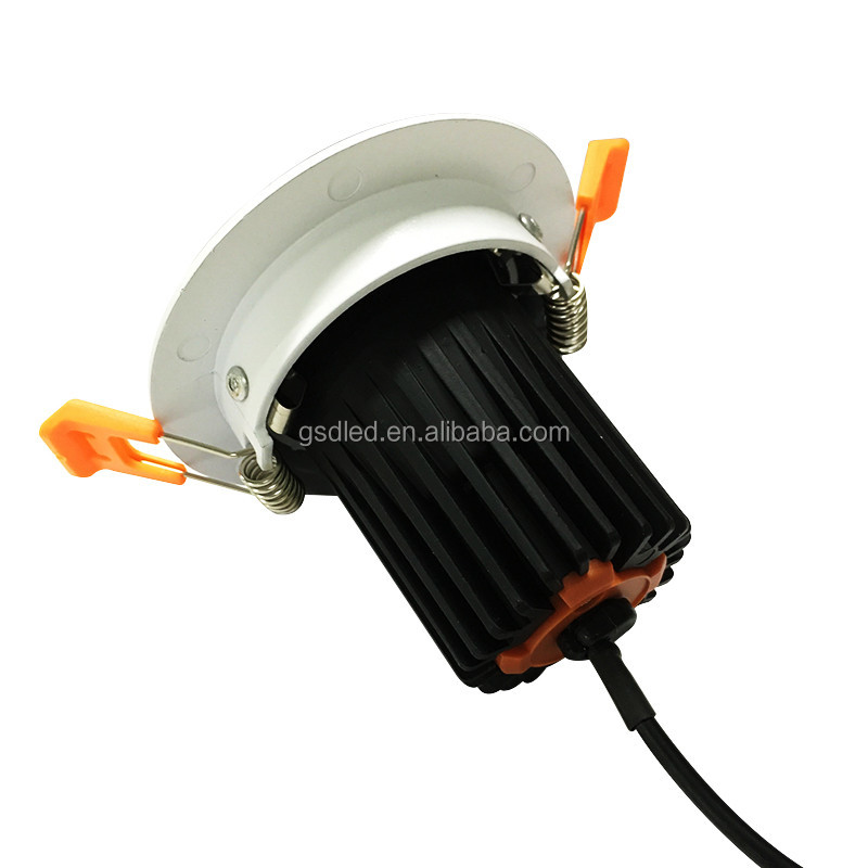 High quality adjustable cob mr16 module led compatible with gimbal ceiling fixtures