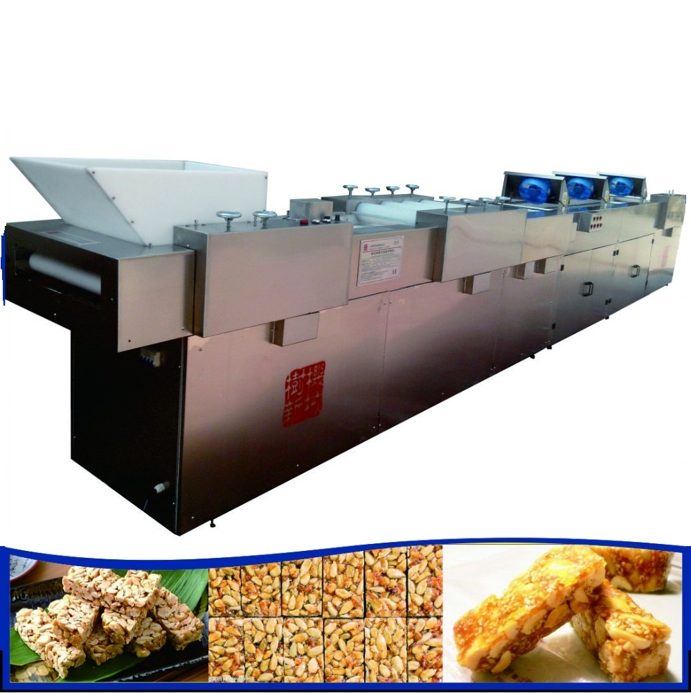 rice candy cutting machine producing line granola making machine