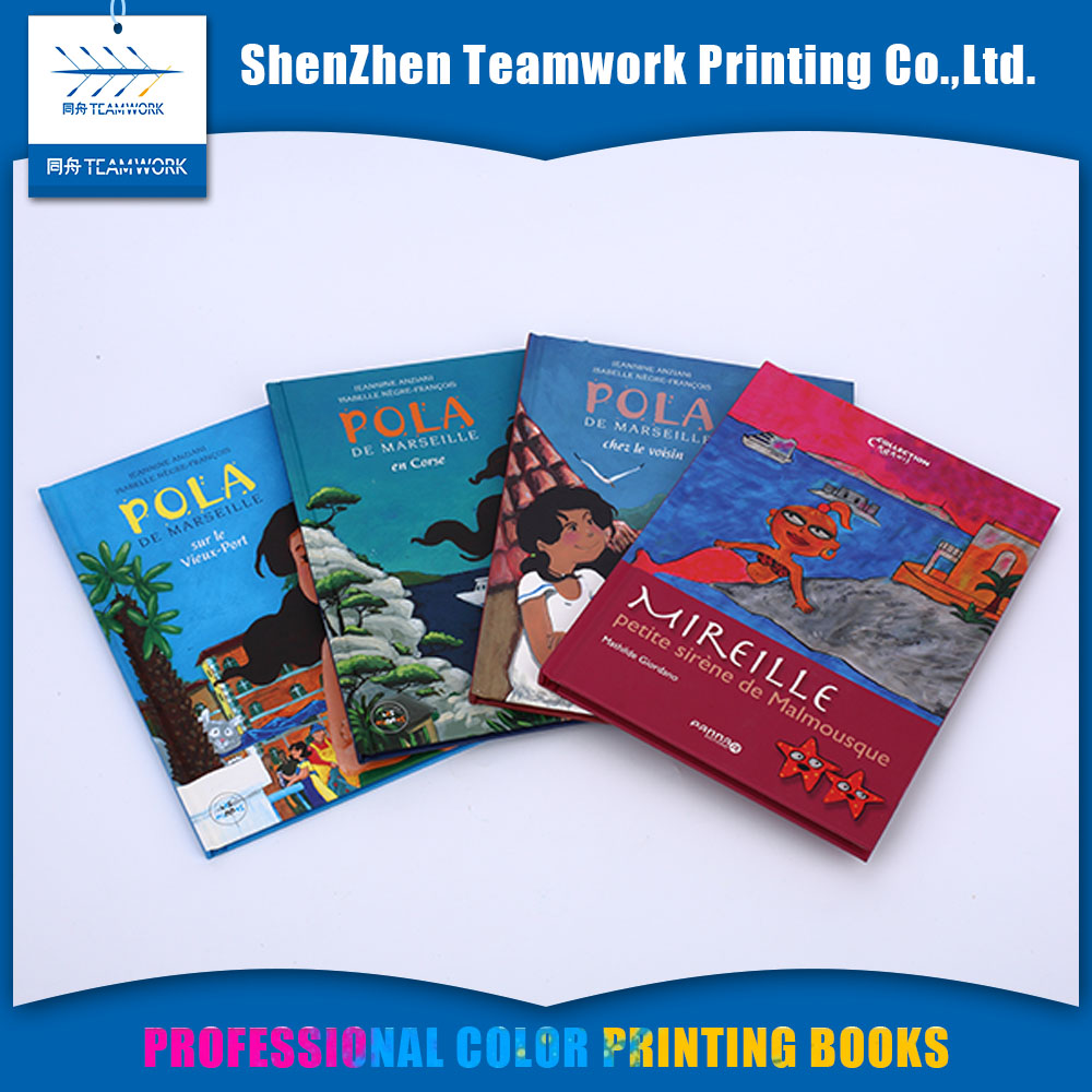 Professional cartoon picture print on demand children's books