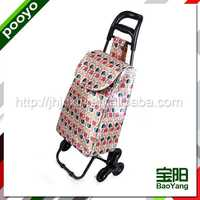 wholesale shopping trolley foldable step ladder carts