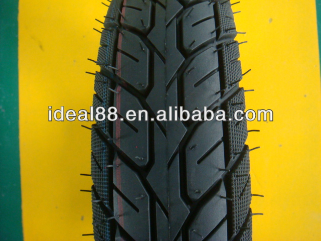 tubeless motorcycle tire 3.50-10 with CE certificate (MOTORCYCLE TYRE FACTORY)