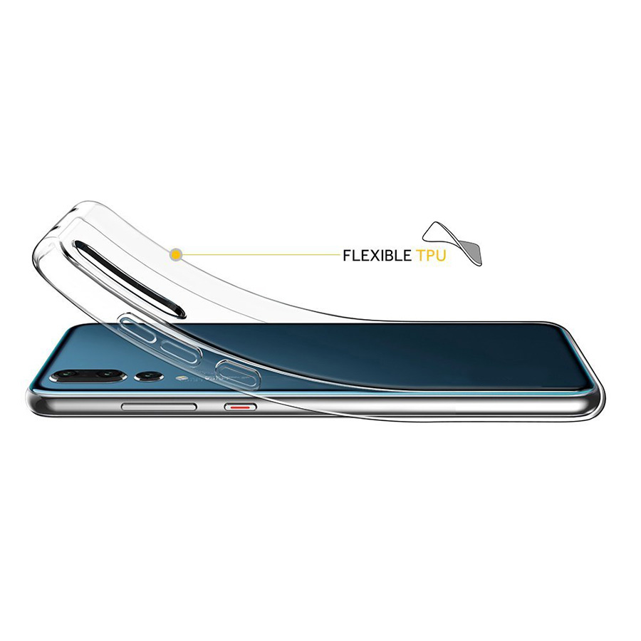 Transparent tpu gel Ultra thin clear case for Huawei P20 Pro covers
