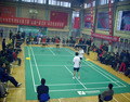 Anti-skidding badminton PVC flooring