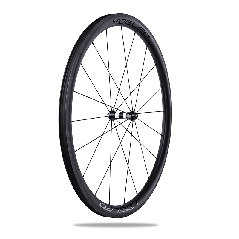 China Full Carbon Cycling Road Bike Wheels Clincher 38/60 700c Wheelset Set <strong>U</strong> Shape Chinese Bicycle Ultralight Wheel