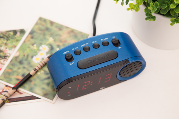 Factory Custom Radio Controlled Alarm Clock Radio In High Quality