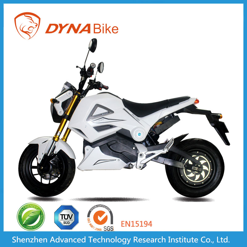 DYNABike Good Quality 72V Motor Disc Brake Racing Motorbike Electric
