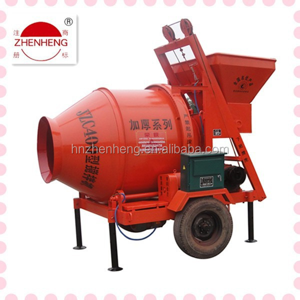 used JZCP400 electric portable concrete mixer machine parts for sale in canada