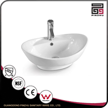 Home Using Hotel Oval Hand Made Ceramic Basin
