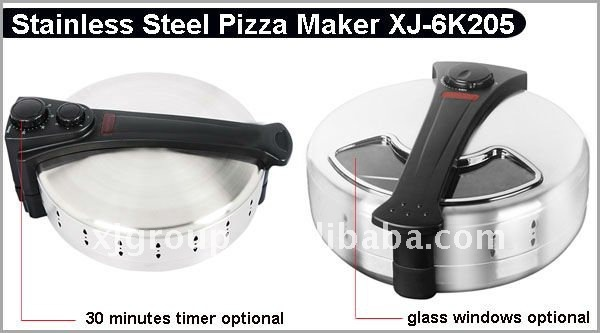 automatic pizza maker with ceramic stone plate XJ-6K205