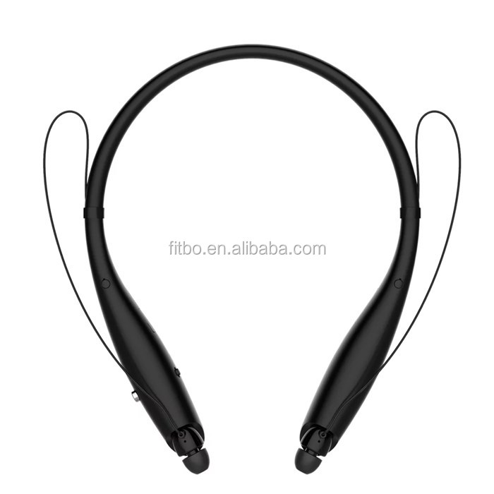 100% Original 350mAH Ultra Big Battery High Quality Stereo Sound Wireless Headset Neckband Bluetooth Headphone