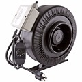 Hydroponics 6 8 10 Inch Low Noise Inline Duct Fan