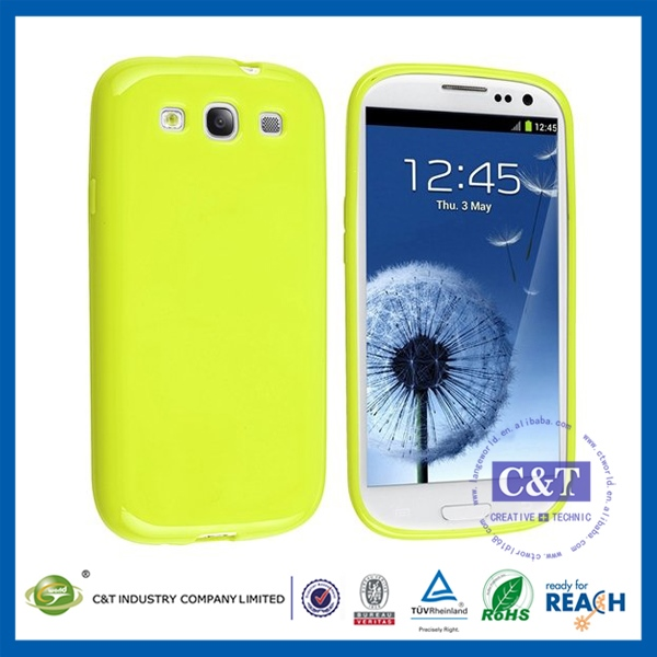 New fashional cheaper rubber case for s3 china mobile